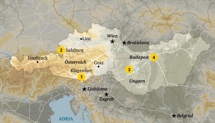 Mobilheim Mieten Ungarn : Camping Österreich ungarn infos tipps adac reisen