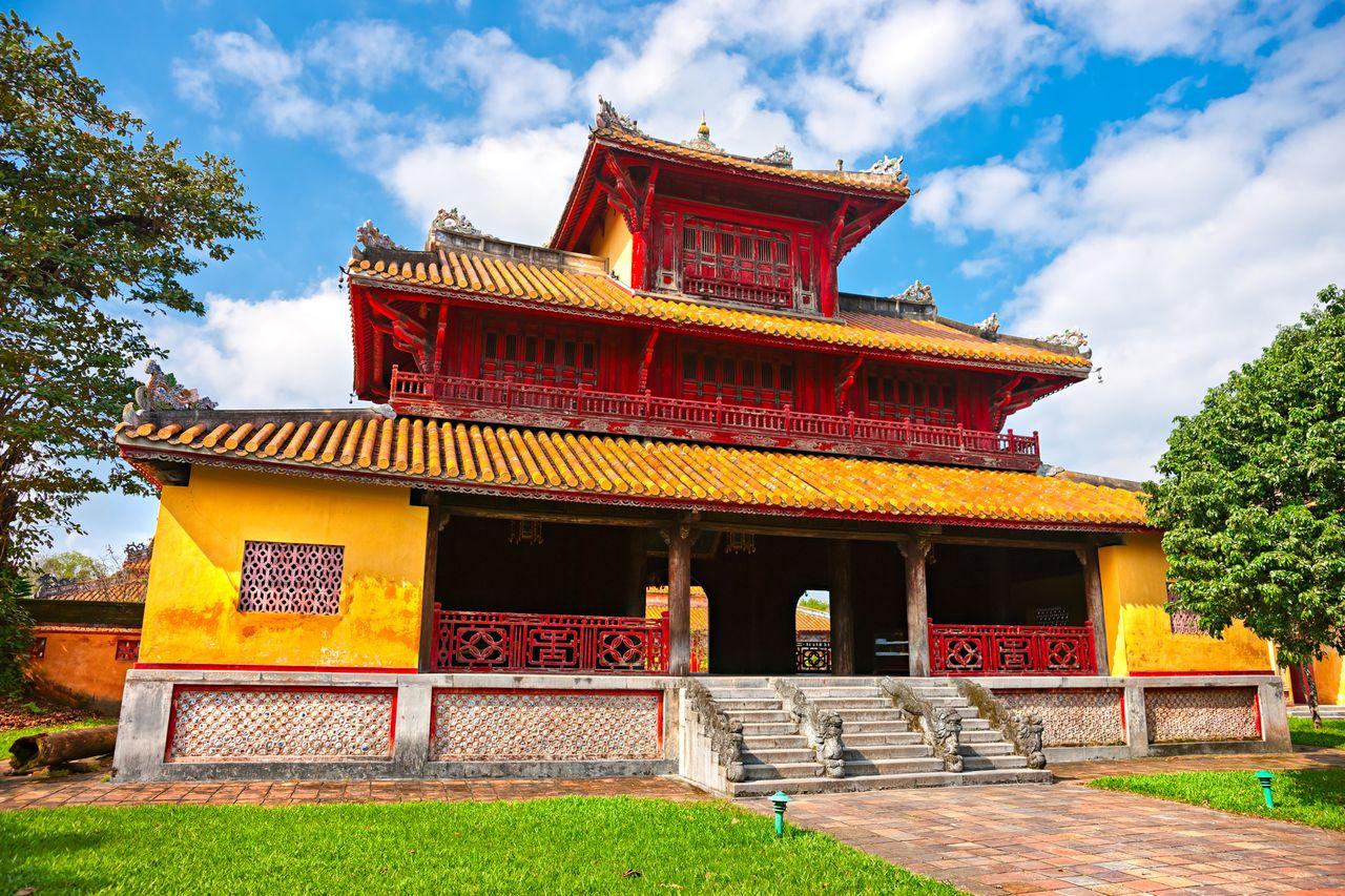 Zitadelle in Hue, Vietnam