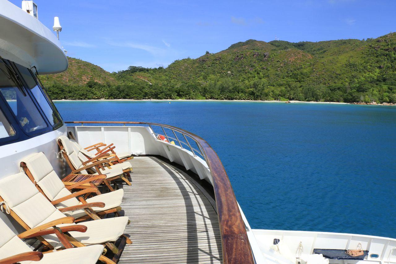 Seychellen Kreuzfahrt Sonnendeck
