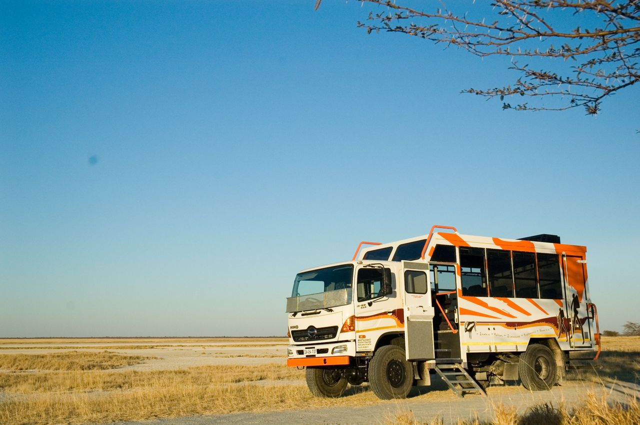 Rundreise Namibia Botswana Simbabwe Expeditions-Truck