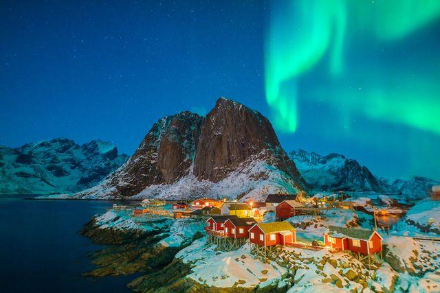 Nordlichter Hurtigruten