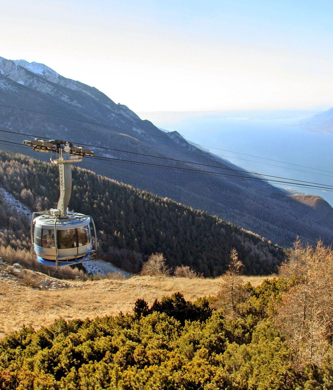 Seilbahn auf den Monte Baldo
