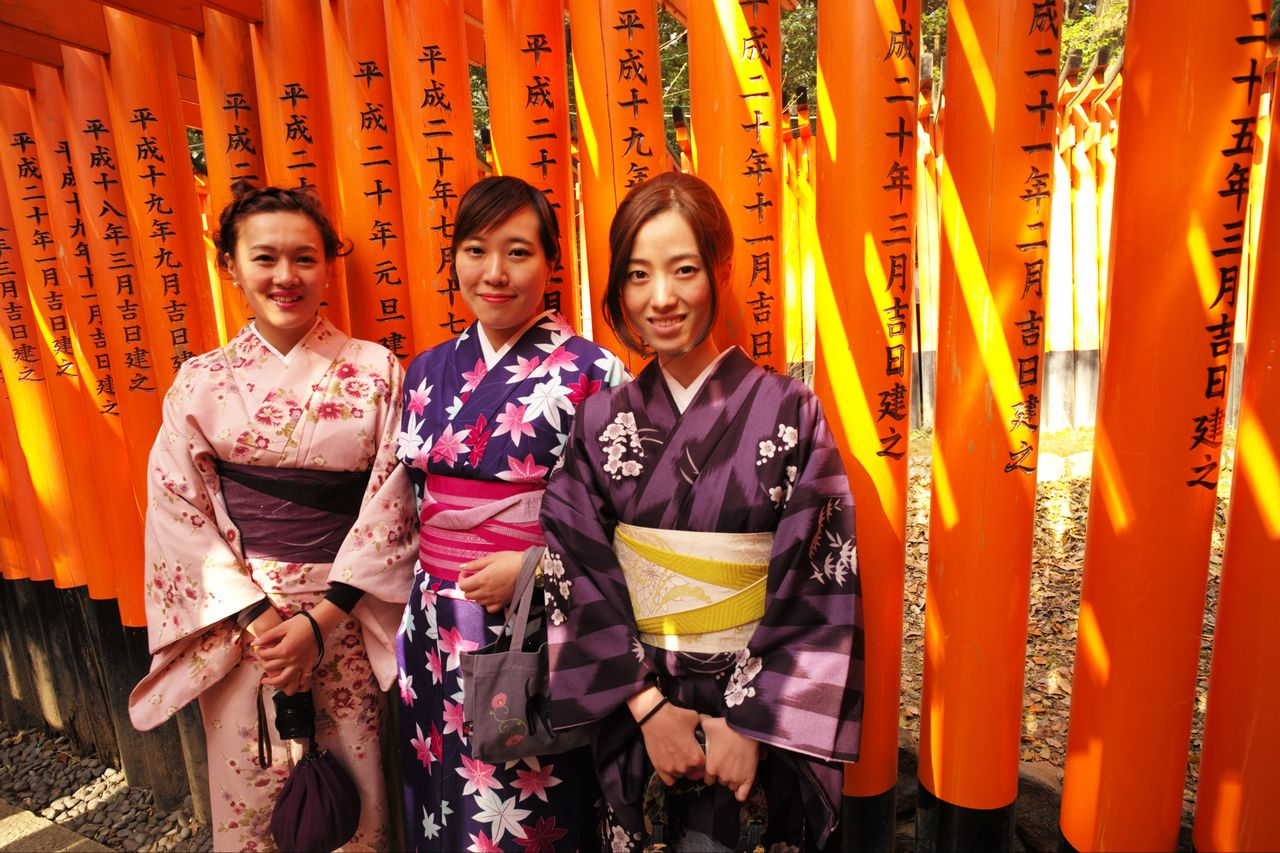 Japan Kyoto Fushimi-Inari Schrein