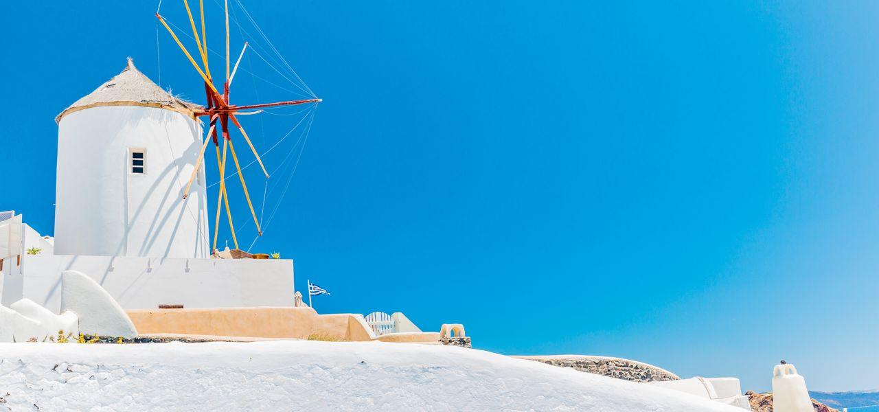 Windmuehle in Griechenland