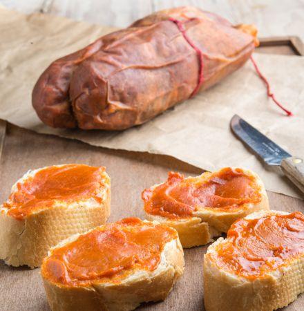 Spanische traditionelle Snacks: Tapas