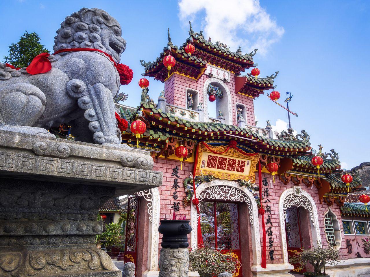 Fujian Assembly Hall in Hoi An, Vietnam