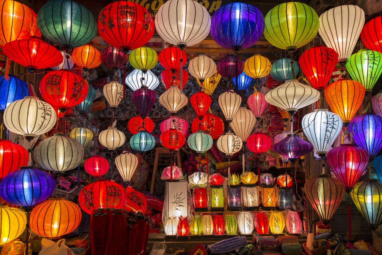 Traditionelle Laternen, Vietnam