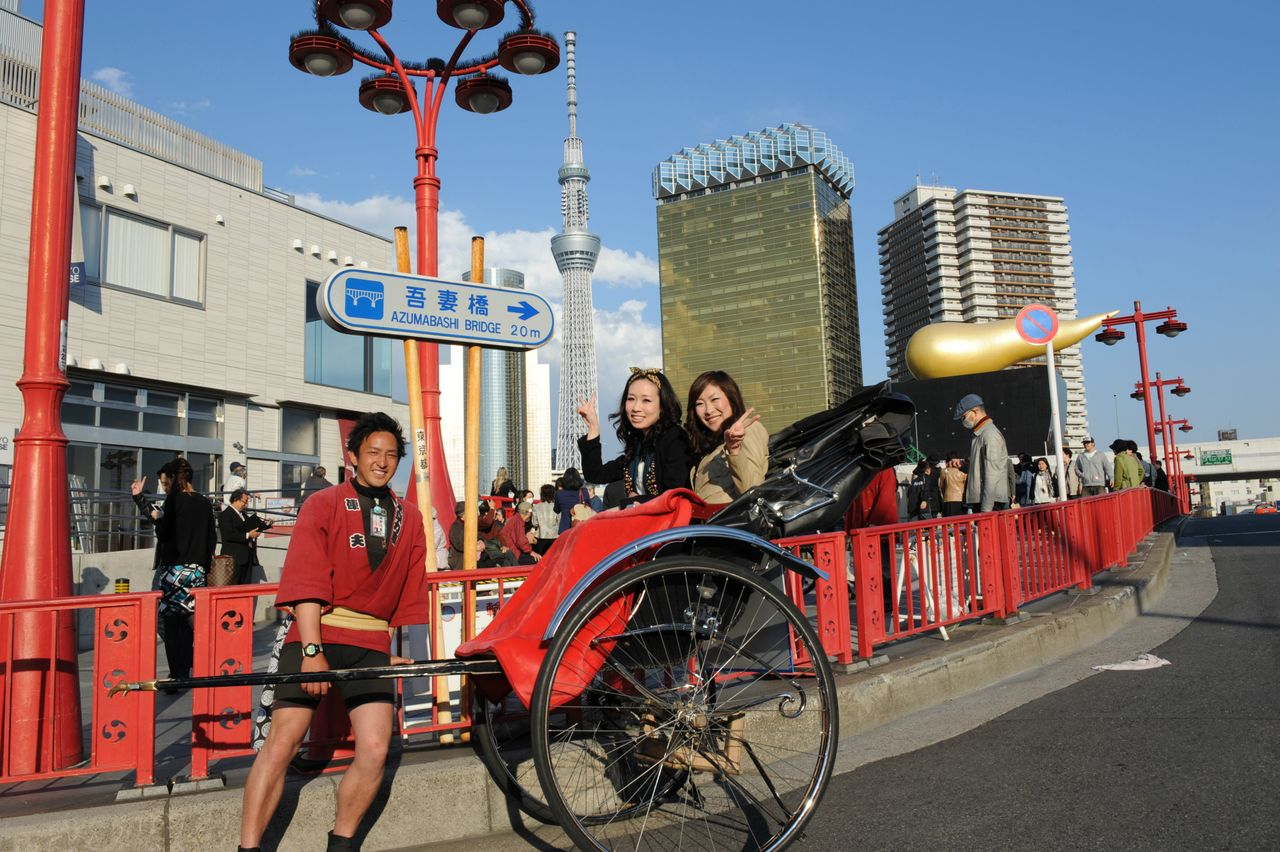 Tokyo Skytree Rikscha