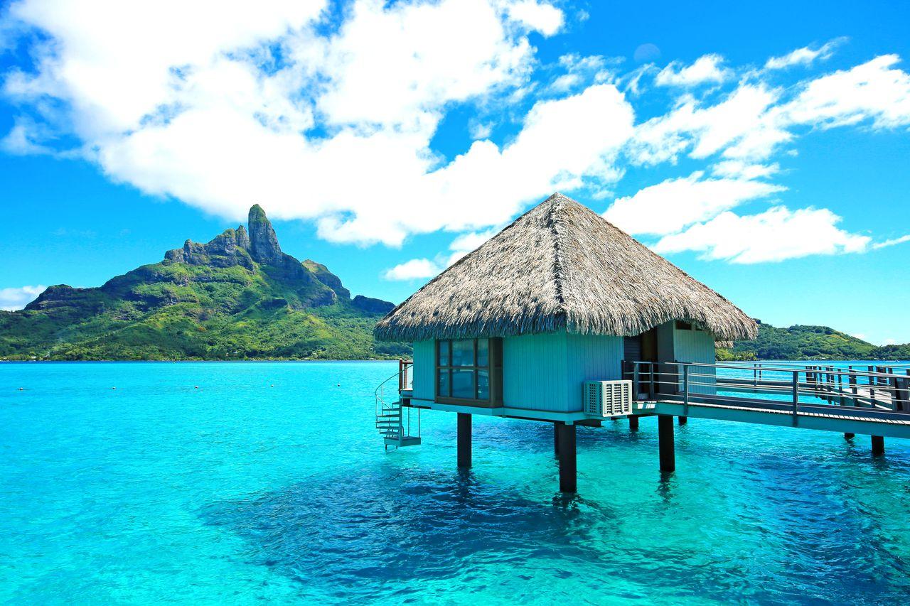 Urlaub im Water Bungalow