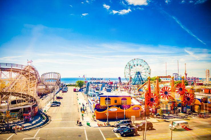 Coney Island New York Freizeitpark