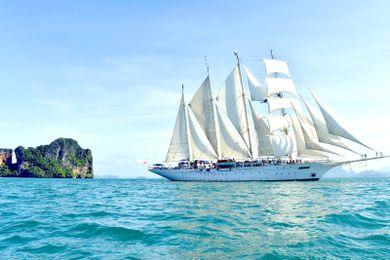 Mitgliederreise Kreuzfahrt Asien Star Clipper