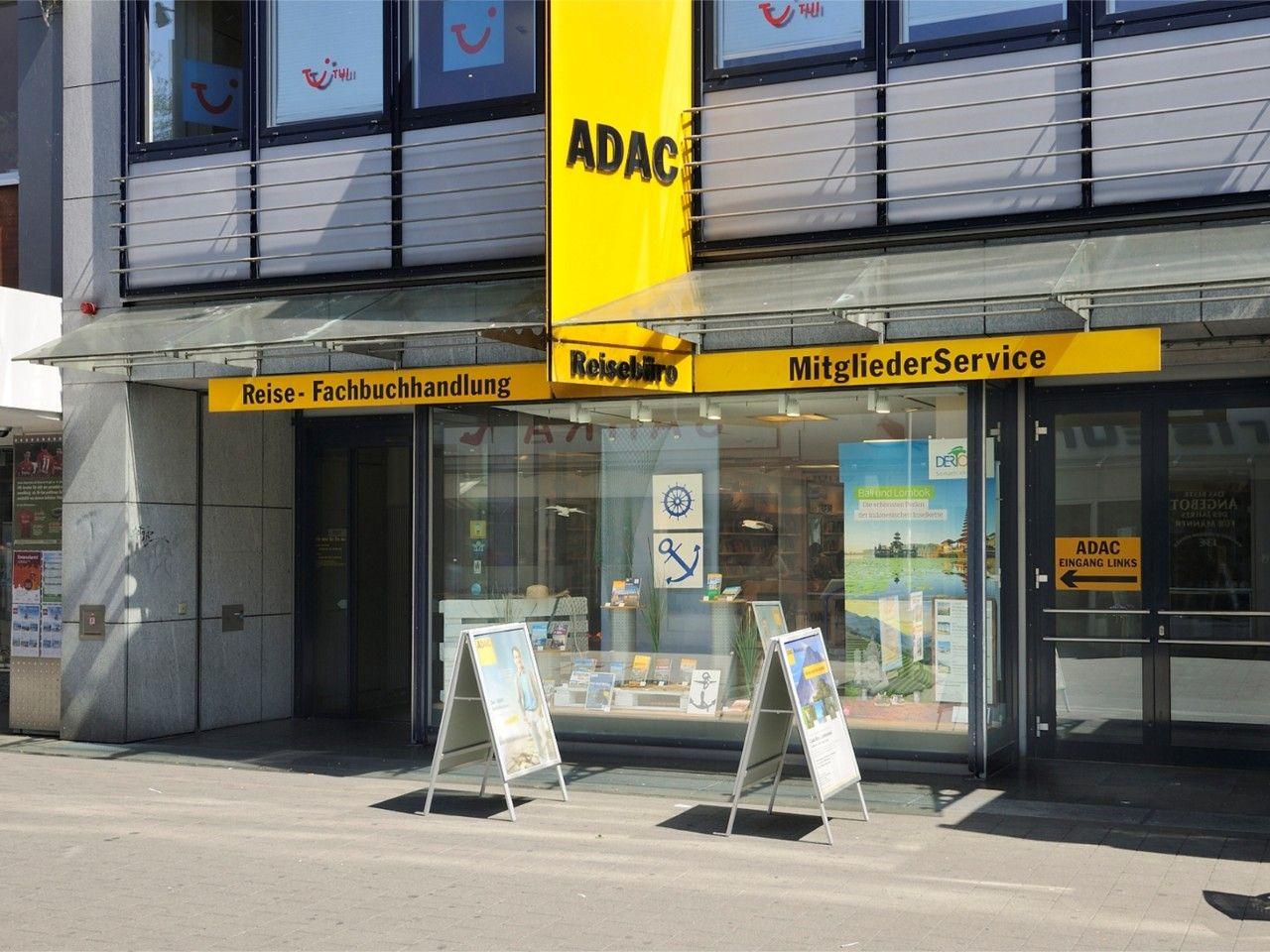Außenansicht ADAC Reisebüro