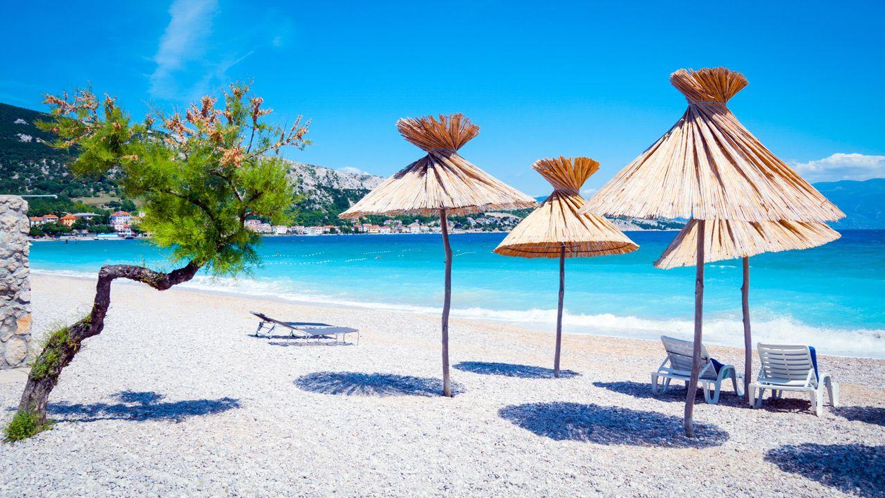 strandurlaub kroatien infos angebote adac reisen. Black Bedroom Furniture Sets. Home Design Ideas