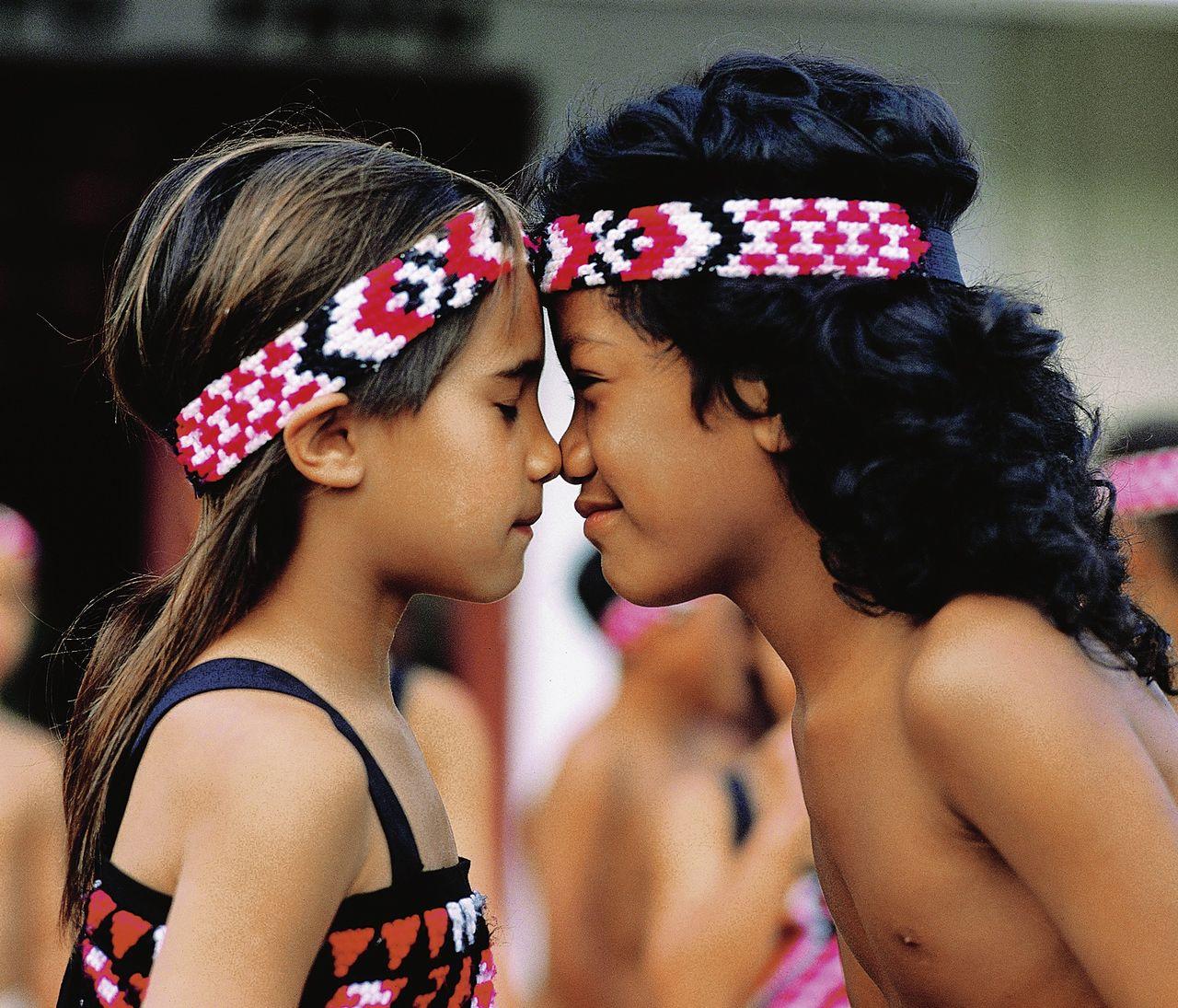 Ureinwohner-Kinder